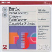 Bartók: The Piano Concertos; Violin Concerto No.2; Concerto for Orchestra by Various Artists