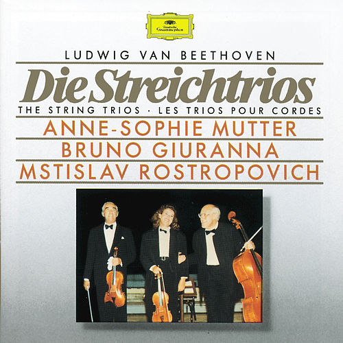 Beethoven: The String Trios by Anne-Sophie Mutter
