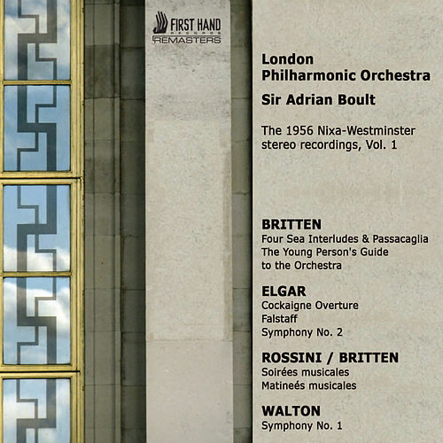 The 1956 Nixa-Westminster Stereo Recordings, Vol. 1 by London Philharmonic Orchestra