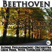 Beethoven: Piano Concerto No. 4 in G major, Op. 58 by Libor Pesek