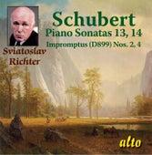 Schubert Piano Sonatas 13 & 14, Impromptus by Sviatoslav Richter