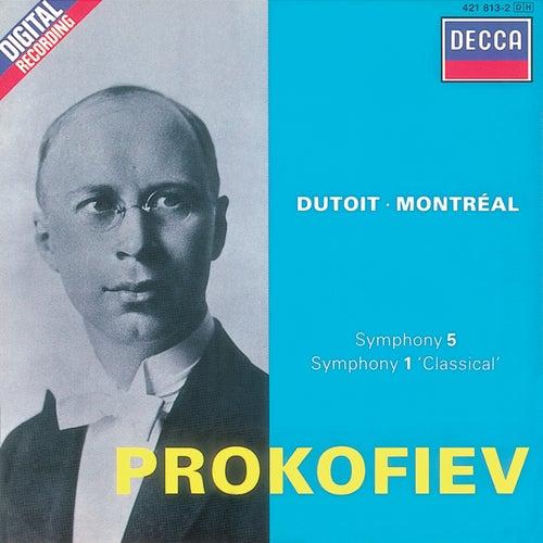 Prokofiev: Symphonies Nos. 1 & 5 by Orchestre Symphonique de Montréal