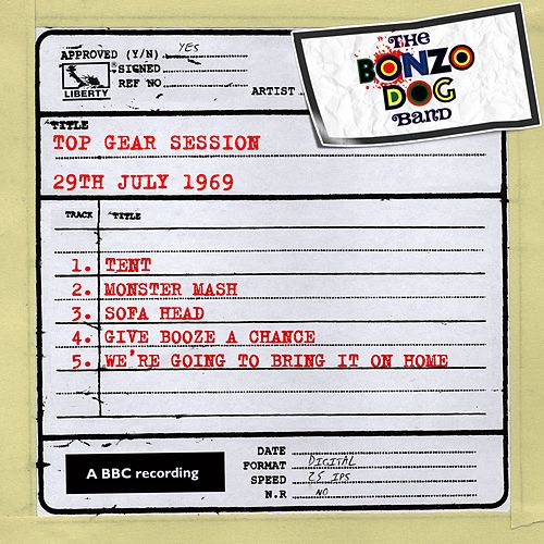 Top Gear Session (29th July 1969) by The Bonzo Dog Doo Dah Band