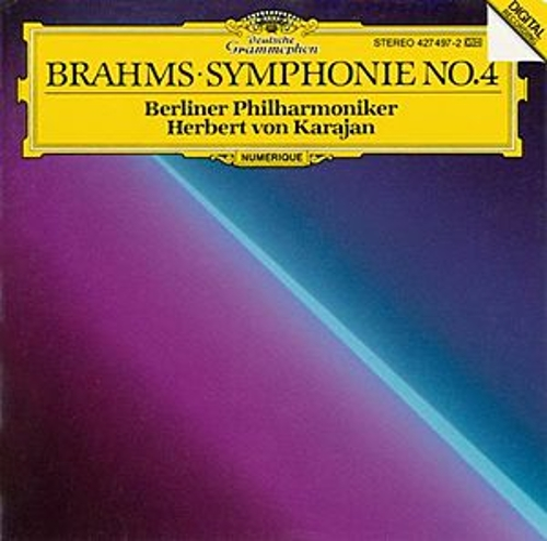 Brahms: Symphony No. 4 in E Minor, Op. 98 by Berliner Philharmoniker