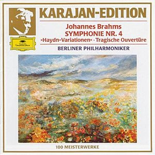 Brahms: Symphony No. 4 In E Minor, Op. 98 ;Variations On A Theme By Joseph Haydn, Op. 56a; Tragic Overture, Op. 81 by Berliner Philharmoniker