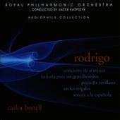 Rodrigo: Concierto de Aranjuez, Fantasia para un Gentilhombre, Sonata a la Española by Carlos Bonell
