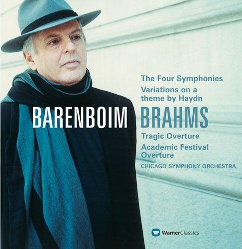 Brahms : Symphonies Nos 1-4 & Orchestral Works by Daniel Barenboim