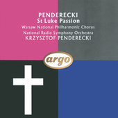 Penderecki: St. Luke Passion by Various Artists