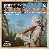 Haydn: Violin Concertos In C Major Hob.VIIa: 1, In G Major Hob. VIIa: 4, In A Major Hob. VIIa: 3/ Salomon: Romance in D Major by Simon Standage