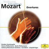 Mozart: Overtures by Various Artists