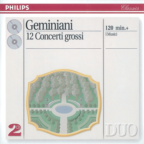 Geminiani: 12 Concerti Grossi, after Corelli Violin Sonatas, Op.5 by Roberto Michelucci