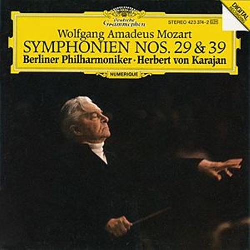 Mozart, W.A.: Symphonies Nos. 29 & 39 by Berliner Philharmoniker