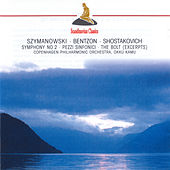 Szymanowski: Symphony No. 2 - Bentzon: Pezzi sinfonici - Shostakovich: Bolt by Okko Kamu