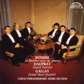 Rossini / Dauprat / Gallay:  Czech Philharmonic Horn Section by Zdenek Tylsar