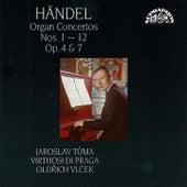 Handel:  Organ Concertos Nos. 1 - 12 by Jaroslav Tuma