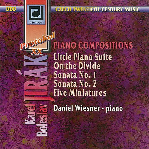 Jirak: Piano Works by Daniel Wiesner
