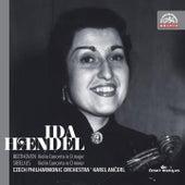 Beethoven / Sibelius:  Violin Concertos by Ida Haendel