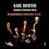 Bach: Brandenburg Concertos, No. 3,4,6 by Karl Richter