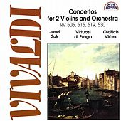 Vivaldi:  Concertos for Two Violins and Orchestra by Virtuosi Di Praga