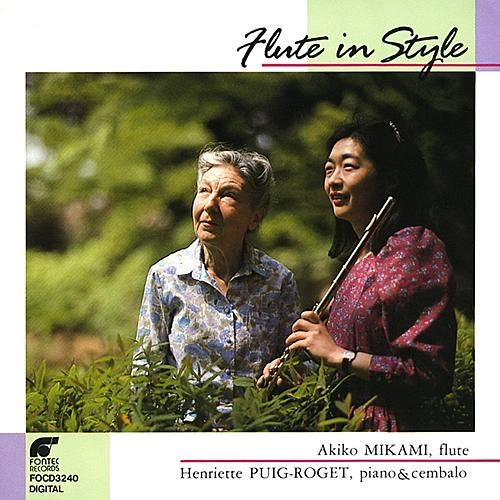 Flute In Style by Akiko Mikami