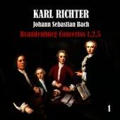 Bach: Brandenburg Concertos No. 1,2,5 by Karl Richter