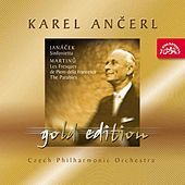 Ancerl Gold Edition 24  Janacek: Sinfonietta / Martinu: Les Fresques de Piero della Francesca, The Parables by Czech Philharmonic Orchestra