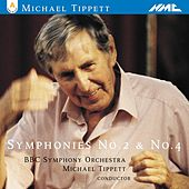 Michael Tippett: Symphonies 2 & 4 by BBC Symphony Orchestra