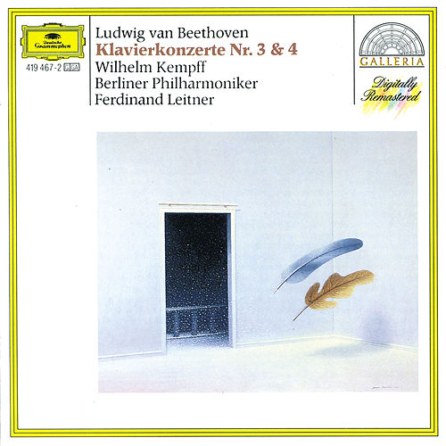 Beethoven: Piano Concertos Nos.3 & 4 by Wilhelm Kempff