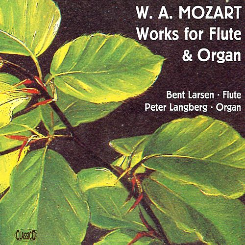 Mozart: Works for Flute and ORgan by Various Artists