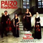 Beethoven: String Quartets Nos. 4 & 14 by Paizo Quartet