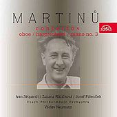 Martinu:  Oboe / Harpsichord / Piano Concertos by Various Artists