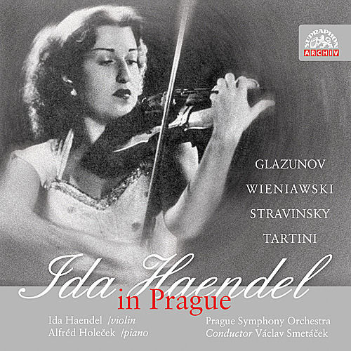 Glazunov / Wieniawski:  Violin Concertos / Stravinsky:  Divertimento / Tartini:  Sonata for Violin and Piano in G minor Devil´s by Ida Haendel