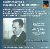 Mozart, W.A.: Piano Concerto No. 23 / Weber, C.M. Von: Konzertstuck, Op. 79 / Tchaikovsky, P.I.: Romeo and Juliet (Walter) (1942, 1949, 1950) by Bruno Walter