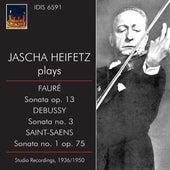 Jascha Heifetz Plays French Sonatas by Various Artists