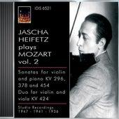 Mozart, W.A.: Violin Sonatas Nos. 17, 26 and 32 / Duo for Violin and Viola, K. 424 (Jascha Heifetz Plays Mozart, Vol. 2) (1936, 1941, 1947) by Various Artists