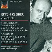 Tchaikovksy, P.I.: Symphonies Nos. 4 and 6 / Schubert, F.: Symphonies Nos. 5 and 8 (Kleiber) (1935, 1948, 1953, 1955) by Erich Kleiber