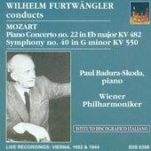 Mozart, W.A.: Piano Concerto No. 22 / Symphony No. 40 (Badura-Skoda, Vienna Philharmonic, Furtwangler) (1944, 1952) by Various Artists