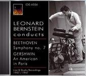 Beethoven, L. Van: Symphony No. 7 / Gershwin, G.: An American in Paris (Boston Symphony, Rca Victor Orchestra, Bernstein) (1957, 1957) by Leonard Bernstein