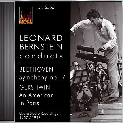 Beethoven, L. Van: Symphony No. 7 / Gershwin, G.: An American in Paris (Boston Symphony, Rca Victor Orchestra, Bernstein) (1957, 1957) by Leonard Bernstein