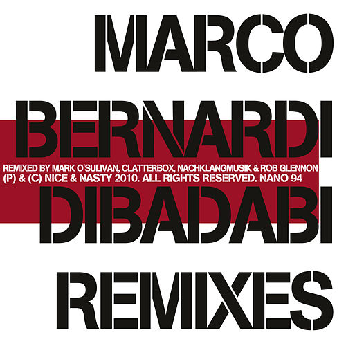 Dibadabi Remixes by Marco Bernardi