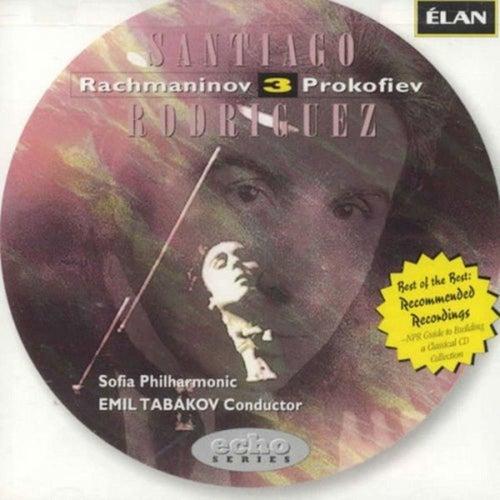 Rachmaninov Piano Concerto No 3 / Prokofiev Piano Concerto No 3 by Santiago Rodriguez