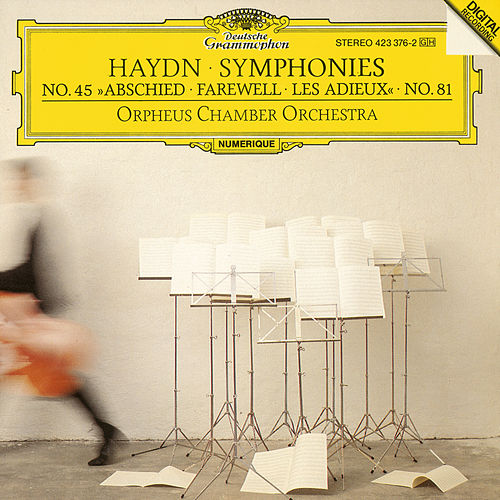 Haydn, J.: Symphonies Nos.Hob.I:81 & Hob.I:45 'Farewell' by Orpheus Chamber Orchestra