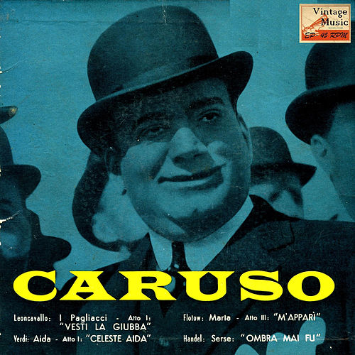 Vintage Tenors Nº 4 - EPs Collectors '4 Romanze Celebri' by Enrico Caruso