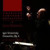 Stravinsky: Fireworks by American Symphony Orchestra