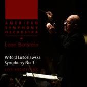 Lutoslawski: Symphony No. 3 by American Symphony Orchestra