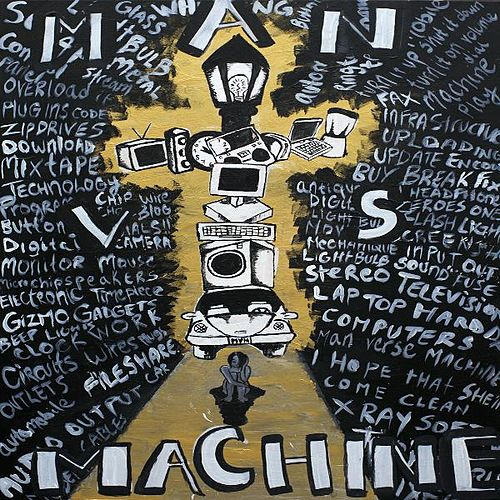 Man Vs. Machine by Vinnie Ferra