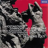 Shostakovich: Symphony No.13/Yevtushenko: Poems by Various Artists