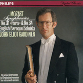 Mozart: Symphonies Nos.31 & 34 by English Baroque Soloists