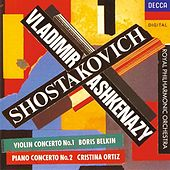 Shostakovich: Violin Concerto No.1; Piano Concerto No.2 by Various Artists