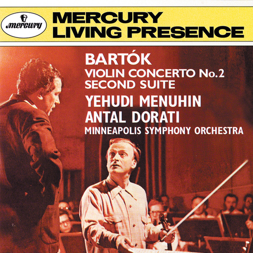 Bartók: Violin Concerto No. 2; Suite No. 2 by Various Artists